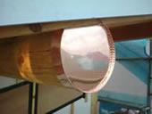 銅板桁巻き